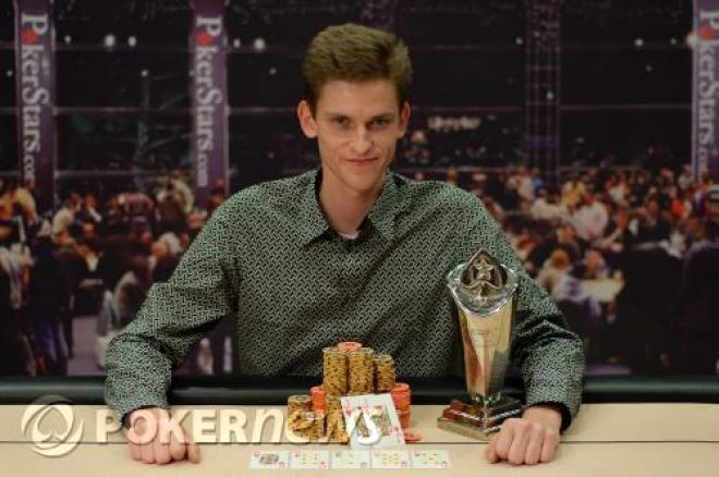 Jan Skampa vence pokerstars european poker tour praga