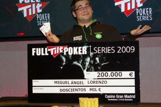 miguel angel lorenzo migu full tilt poker series