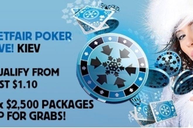 Betfair Poker LIVE! Киев стартира утре 0001