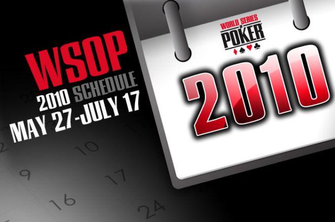 WSOP 2010 график