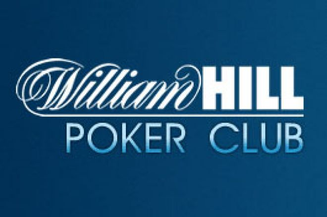 Freerolly na William Hill v hodnotě $10.000 0001