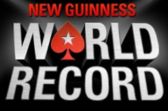 pokerstars record