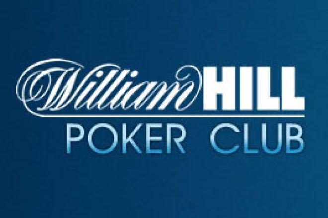 Freeroll - nemokamas $2500 William Hill turnyras PokerNews žaidėjams 0001