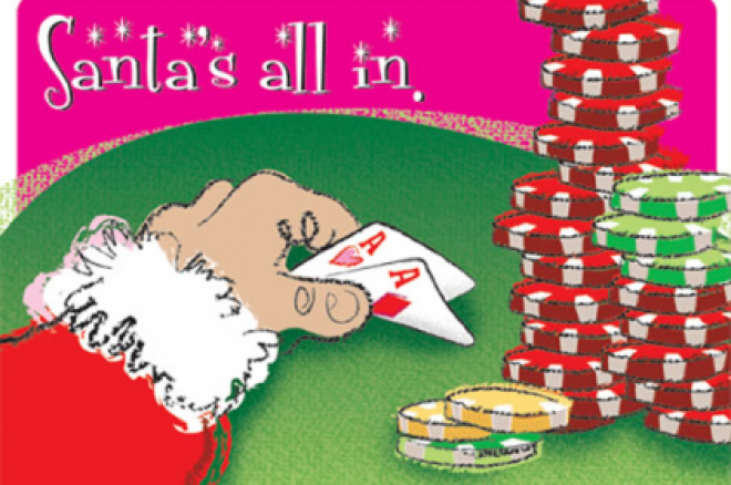 Poker Santa