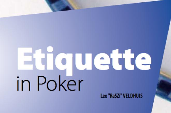 Etiquette in poker