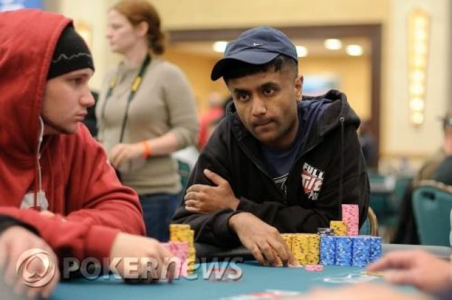 PokerStars Caribbean Adventure Day 2: Praz Bansi Leads 0001