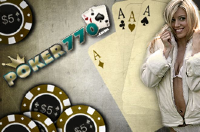 22 x $2770 PokerNews Cash Freeroll sorozat januártól a Poker770 oldalán! 0001