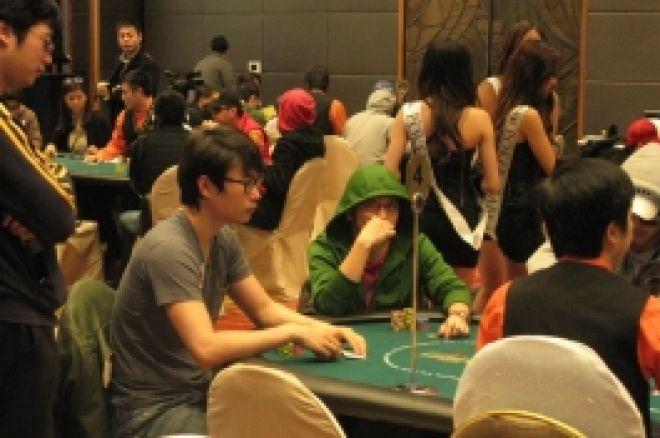 亚洲扑克王大赛第二天(Day2)玩家努力冲刺最终牌桌 0001