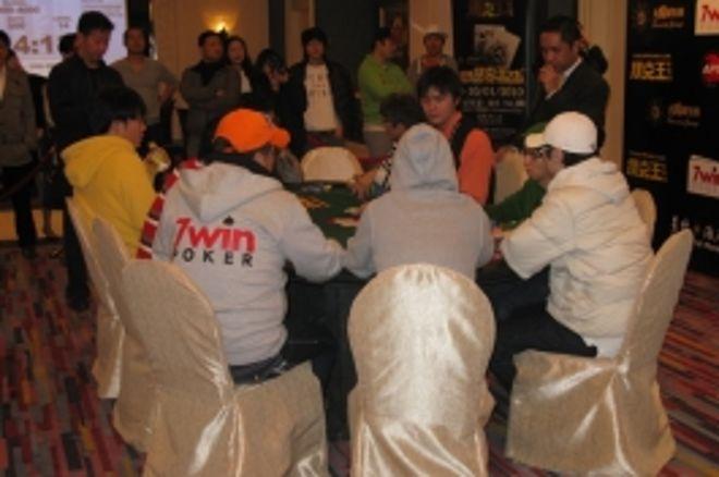 亚洲扑克王大赛最终牌桌淘汰速度极快 0001