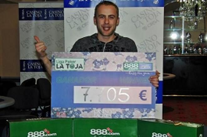 Liga 888.com Poker La Toja: Javier Muíños, campeón de la primera etapa 0001