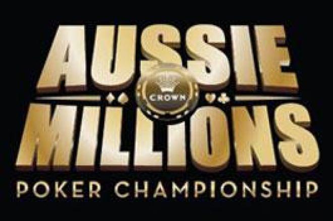 Aussie Millions - Finalebord i event #8, $100 000 Challenge