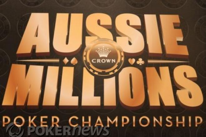 Aussie Millions: Main Event Day 2 0001