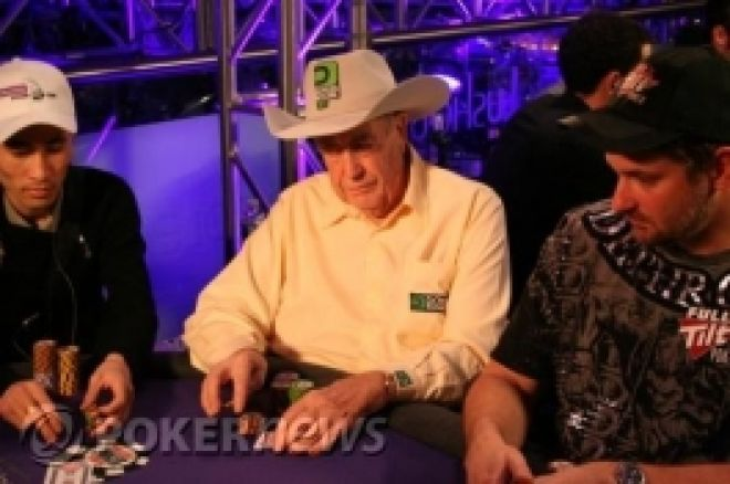 Doyle Brunsonas žais PartyPoker Premier League turnyre, o PokerNews tapo pagrindiniu... 0001