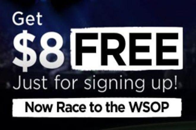 Free $8 at 888!