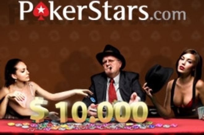PokerStars & PokerNews liga - $10k EPT paket som pris
