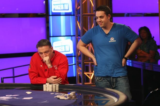 Party Poker Premier League IV, Heat 5; Ian Frazer Holds Off the Volatile Luke Schwartz 0001