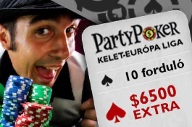 Ma PokerNews Kelet-Európai Liga 3. forduló! 0001
