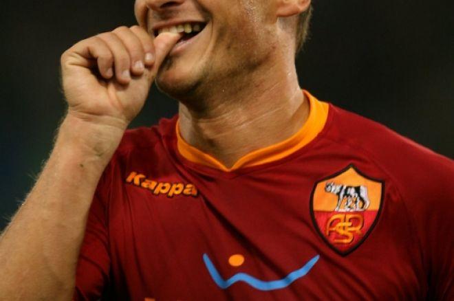 Francesco Totti pereina į PartyPoker komandą 0001