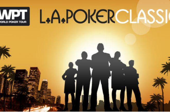 LA Poker Classic har fått ett finalbord 0001