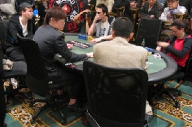 红龙锦标赛第一轮B组正在澳门扑克之星扑克室举行 0001