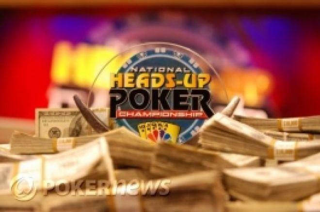 NBC National Heads-Up Poker Championship - Първи кръг е в историята 0001