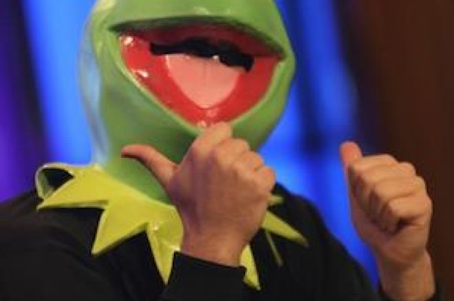 Tony G as Kermit