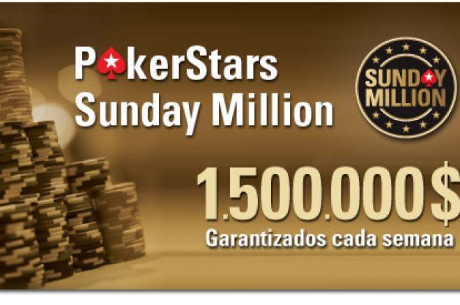 "PokerStars Sunday Million: ""Popimaiorca"", español, segundo. Resultados de torneos 0001"