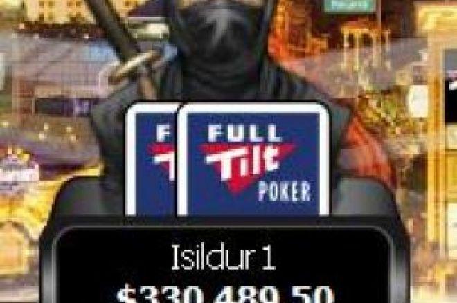 Spelet lugnas ner på de högsta nivåerna när Isildur1 saknas vid borden 0001