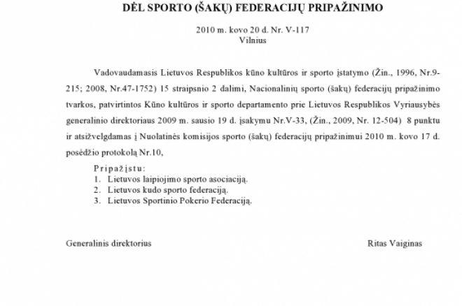 Lietuvoje atsirado nauja sporto šaka - sportinis pokeris 0001