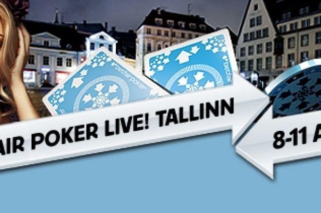 Започна Betfair Poker Live! Tallinn 0001