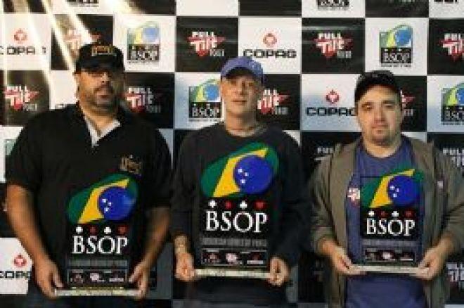 Finalistas BSOP Florianópolis