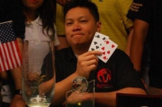 Binh Nguyenは米国の100万ドル保証されたPAGCOR Chairman's Cup を勝ち取ります 0001