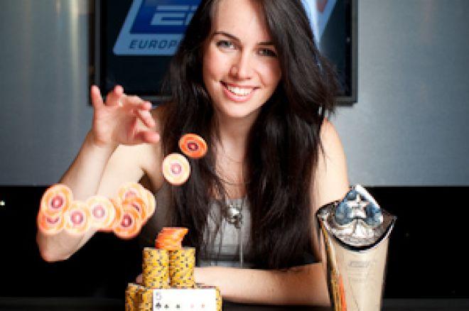 Liv Boree blev den tredje kvinnan genom tiderna att vinna en EPT 0001