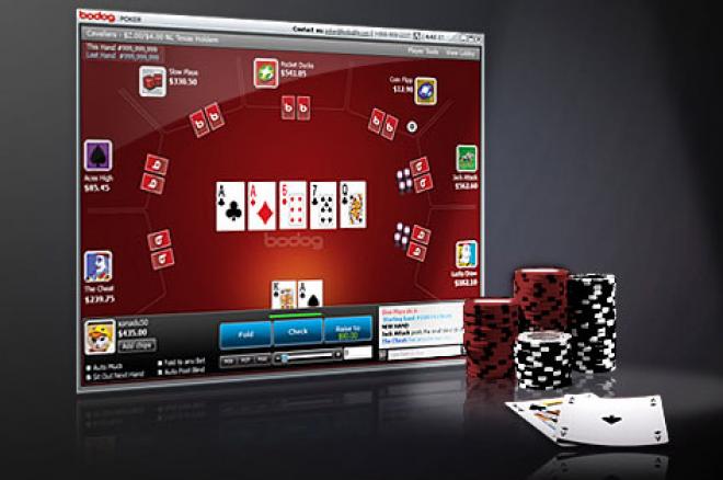 Bodog Poker с подобрения в софтуера си 0001