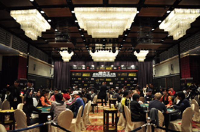 Ninety-Four Players Continue to Day 2 of the Asian Poker King Tournament's Main Event 0001
