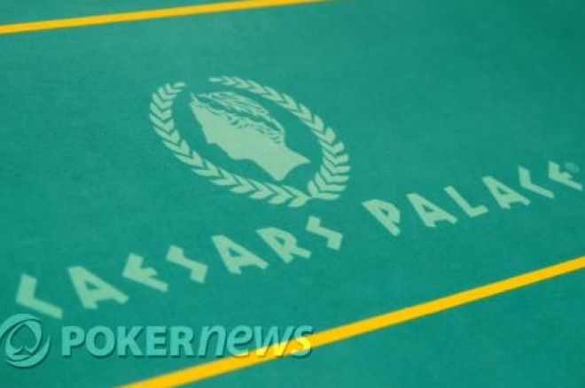 Mindössze 150 játékos indult a WSOP Circuit Caesars Palace versenyen 0001