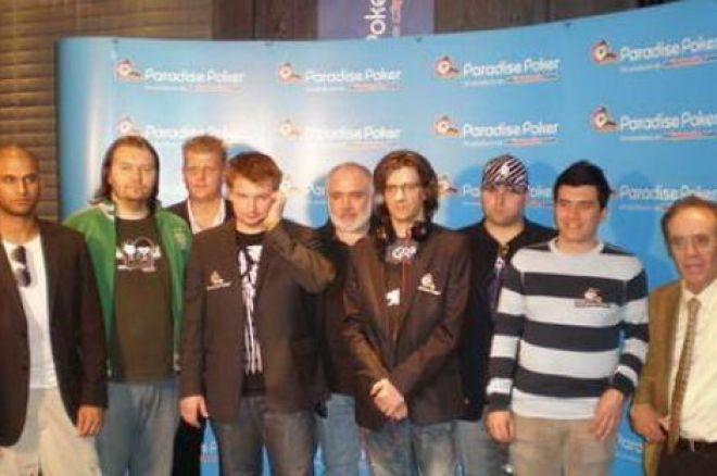 Paradise pokerio ture Sliogeris užima 4-tą vietą! 0001