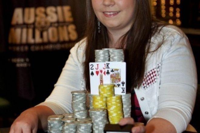 """WSOP Rookie Roundup: Annette """"Annette_15"""" Obrestad 0001"""