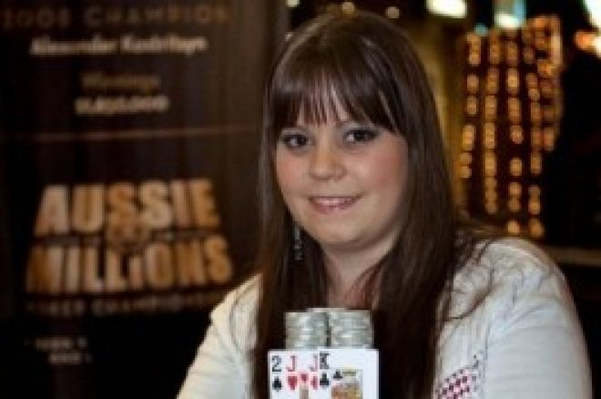 """Η πρωτάρα του WSOP: Annette """"Annette_15"""" Obrestad 0001"""