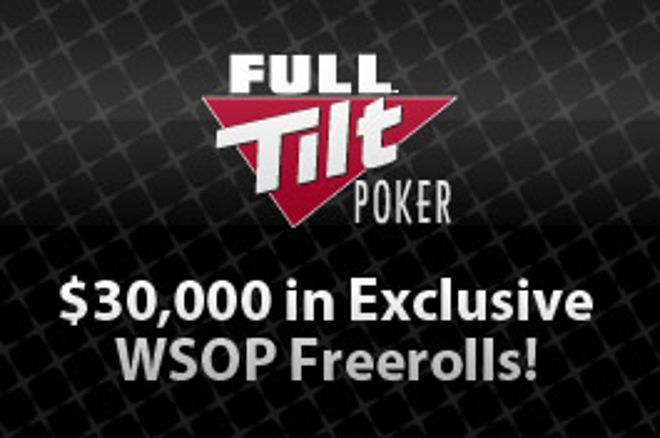 Kvalifikujte se do freerollů o celkem $30,000 na Full Tilt Poker 0001