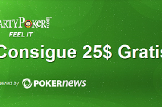 party poker 25 gratis