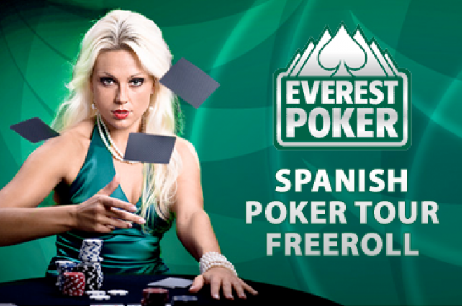 Freerolly o $2,100 na Everest Spanish Poker Tour 0001