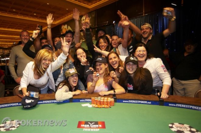 2010 World Series of Poker Day 17:  Hellebuyck Becomes First French Woman to Win WSOP Gold... 0001