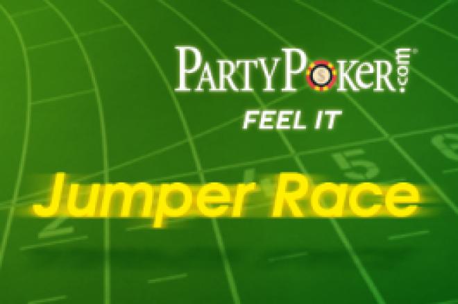 PartyPoker의 $15,000 상당의 순위 상승 레이스가 이미 시작되었습니다. 0001