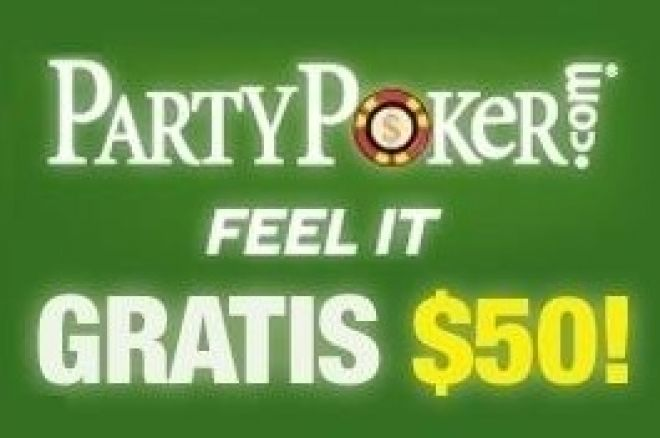 party poker 50 gratis