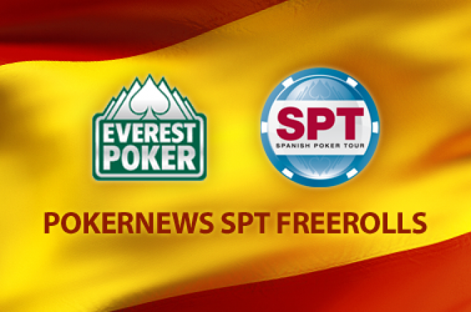 Everest Spanish Poker Tour Freeroll this Weekend 0001