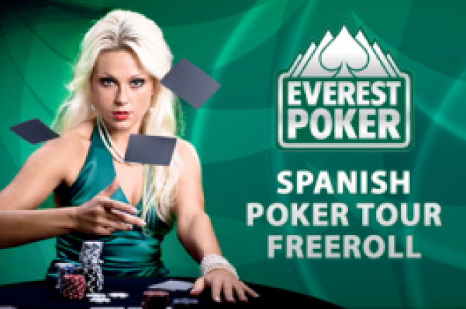 Everest Spanish Poker Tour Freeroll Denne Weekend 0001