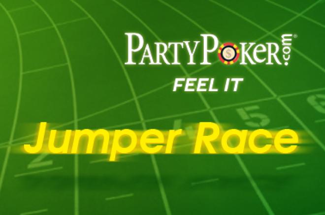 promoção partypoker dinheiro gratis jumper rake race