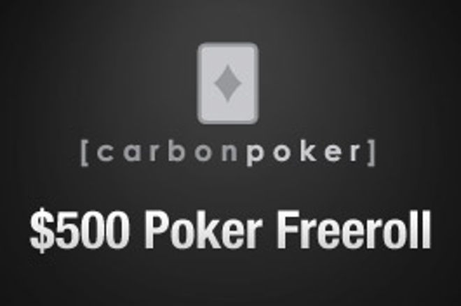 $500现金免费锦标赛系列在Carbon Poker已经开始 0001
