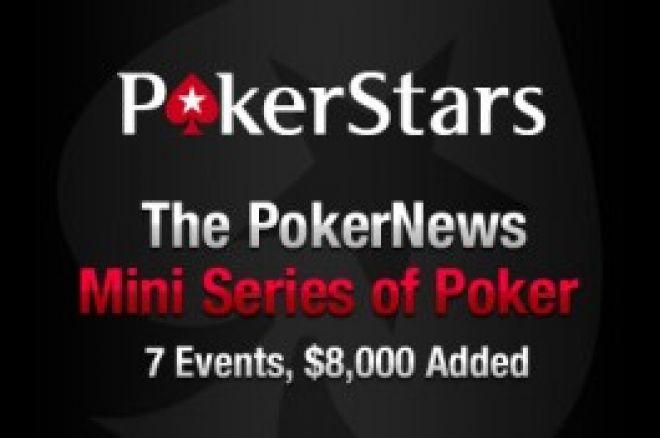 PokerNews siūlo naują turnyrų seriją - Mini Pokerio Seriją (MiniSOP) 0001